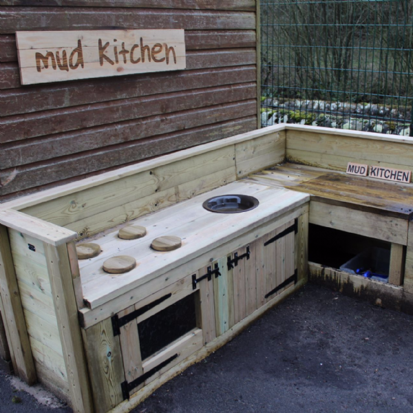 Create Your Own Mud Kitchen